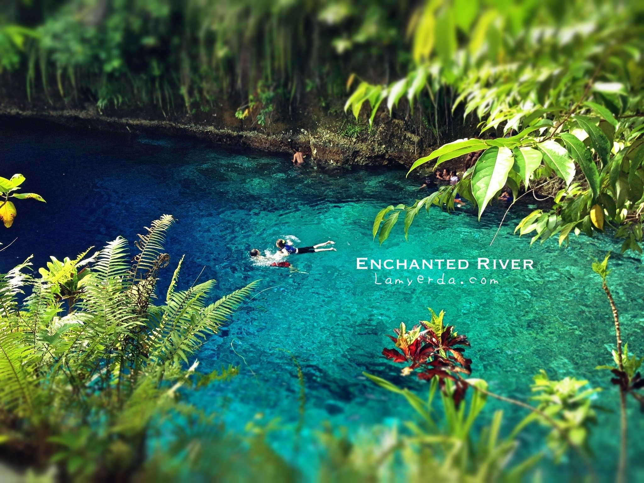 Enchanted River Hinatuan