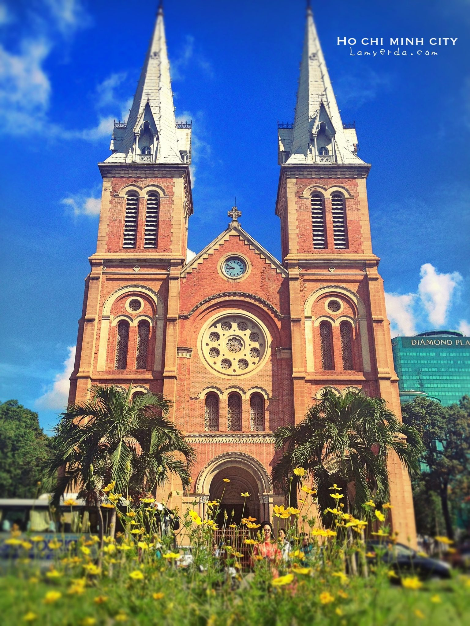 Saigon: The Notre Dame Cathedral