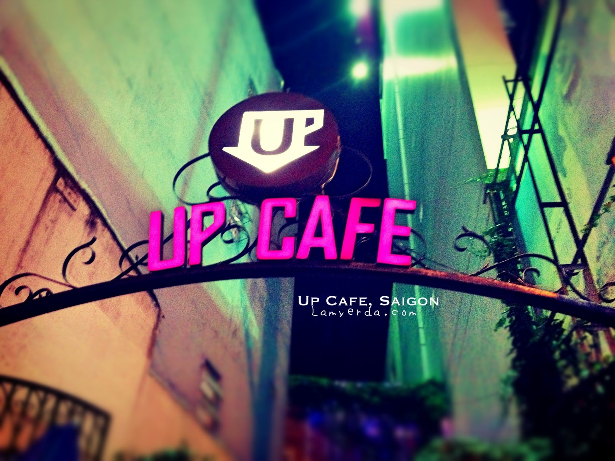 Entrance to Up Cafe