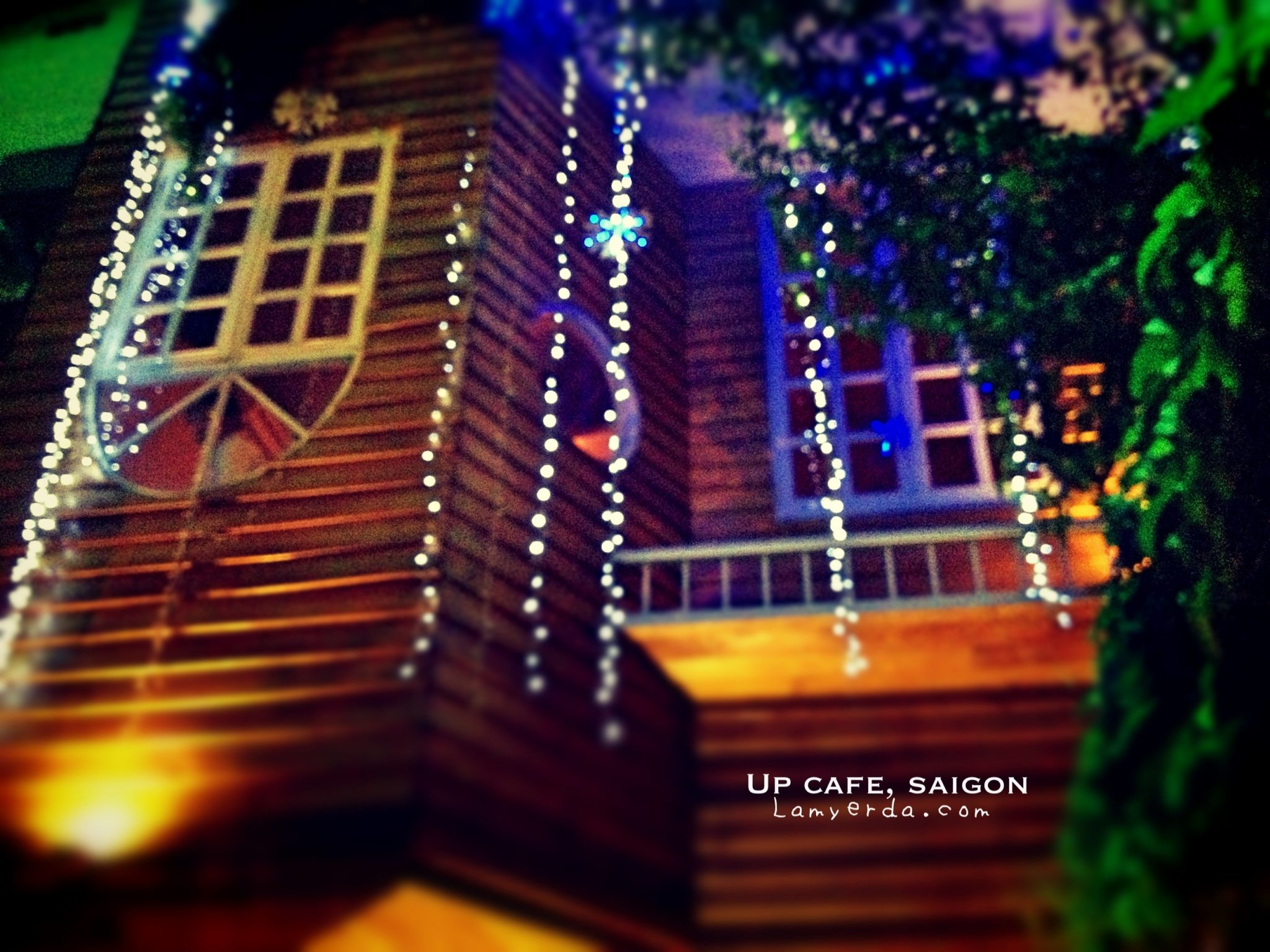 The Up Cafe, Saigon