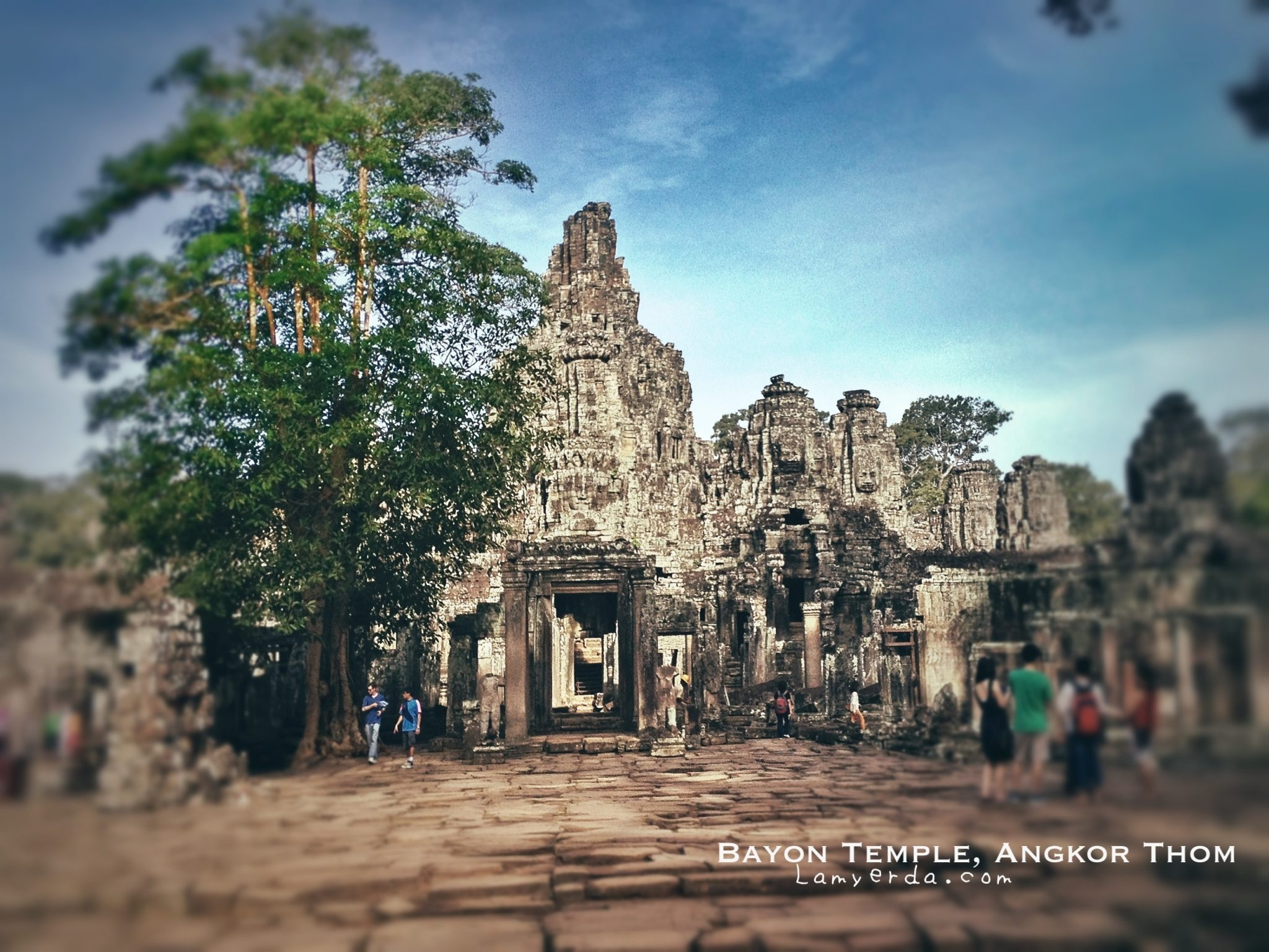 Bayon Temple at first glance