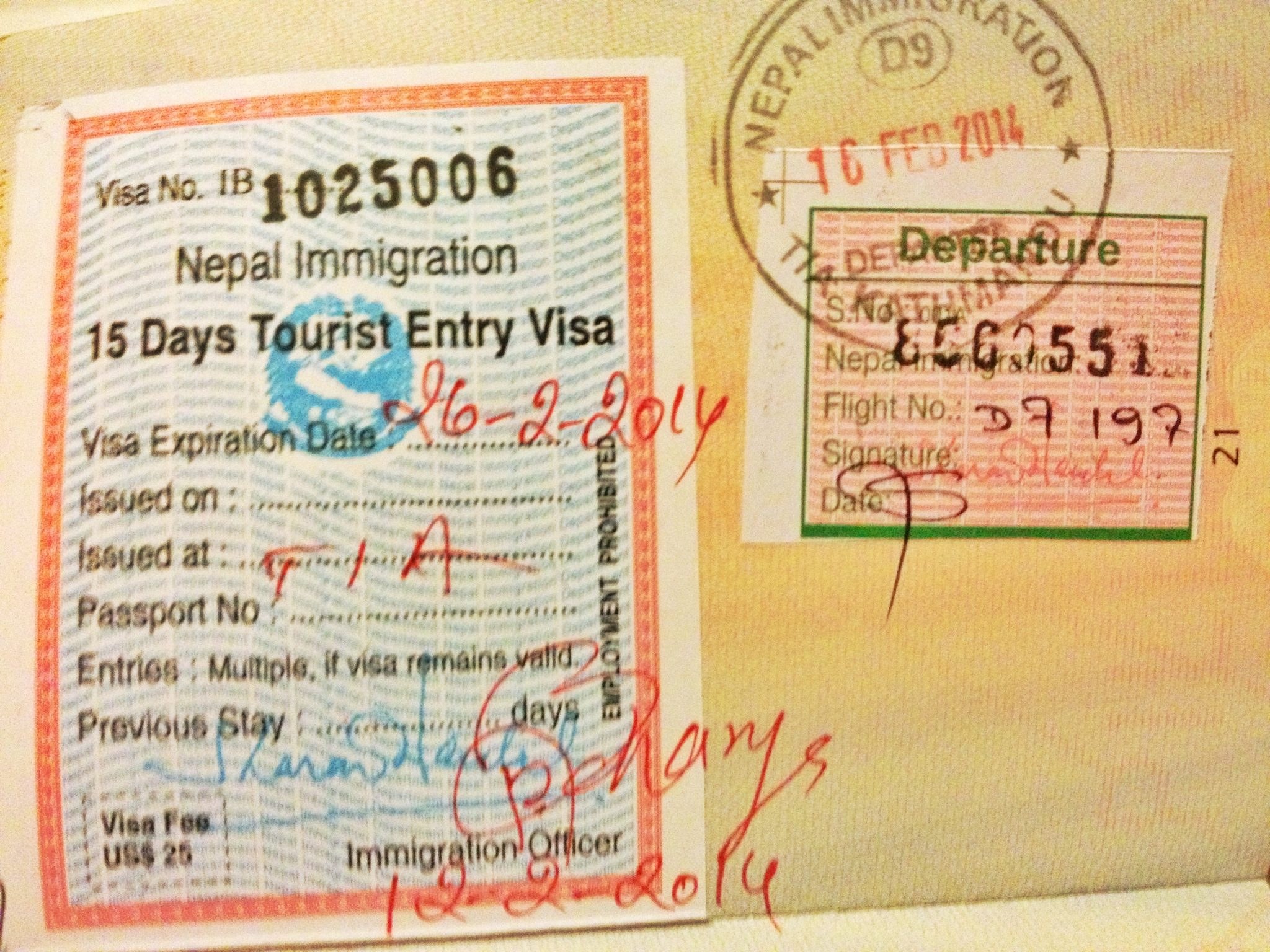 Nepal Tourist Visa On Arrival For Filipinos - Lamyerda