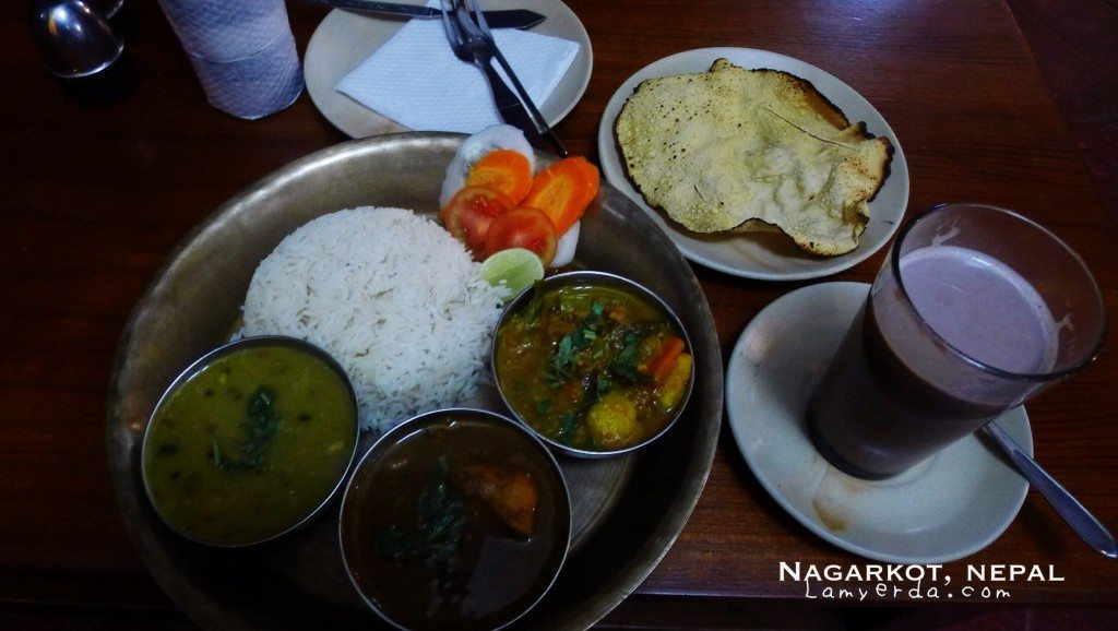 Dal Bhat - Nepalese Traditional dish