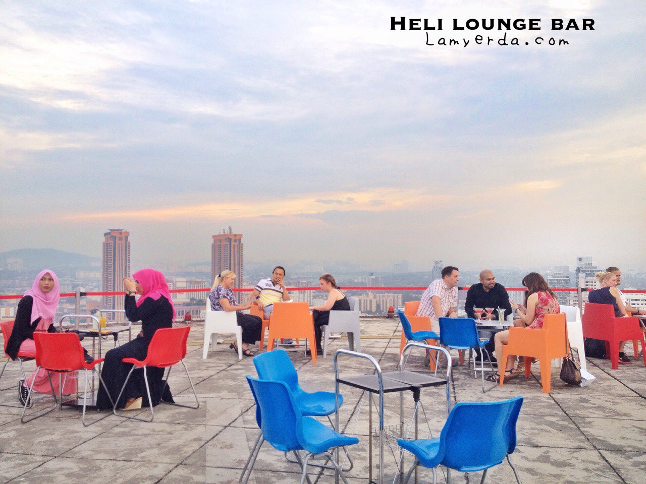 Best 360 View of KL's Skyline: Heli Lounge Bar - Lamyerda Heli Lounge Bar Review on