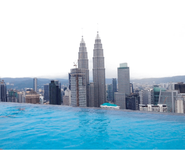 Face Suites Kuala Lumpur Infinity Pool With The View Of