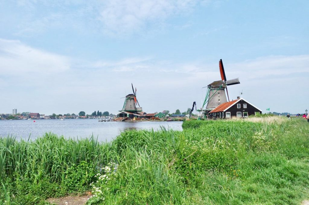 Zaanse Schans dutch countryside