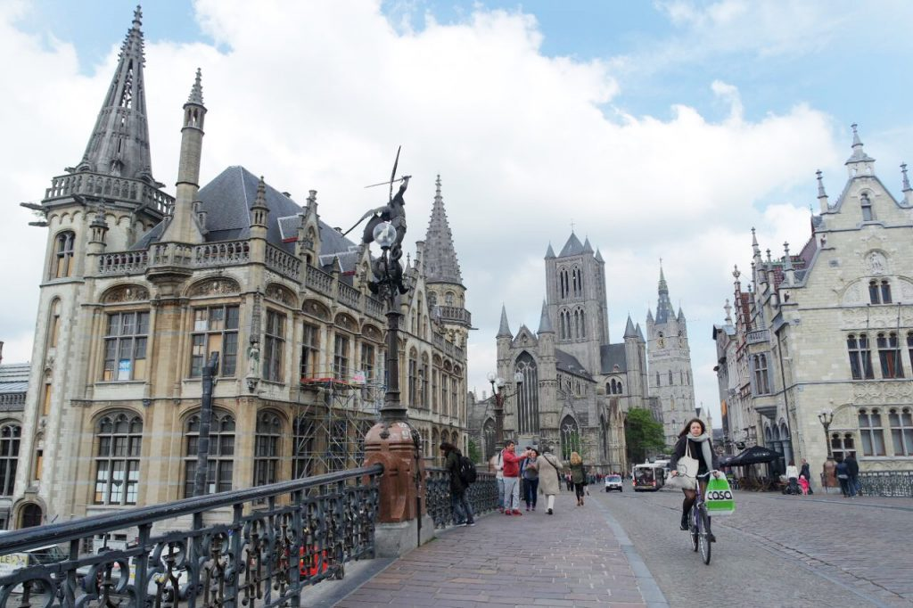 Ghent St. Michael bridge