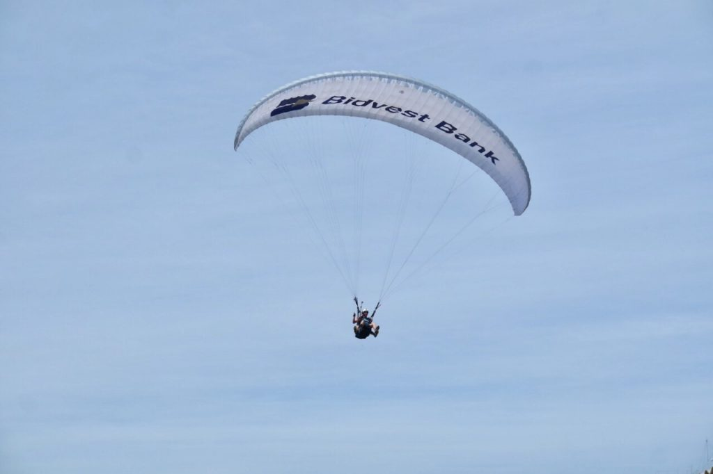 paragliding in signal hill cape town South africa