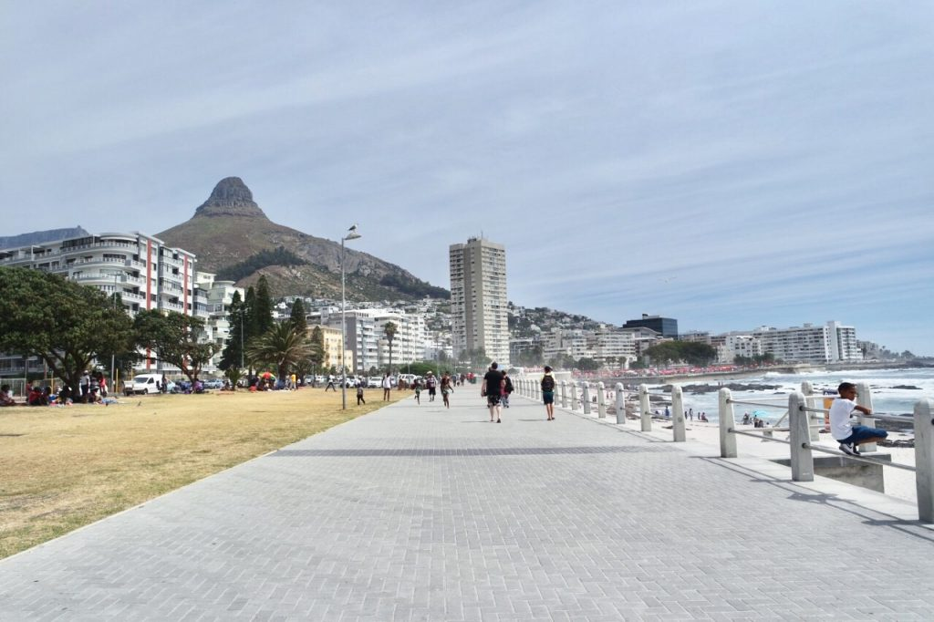 Sea point walk after paragliding