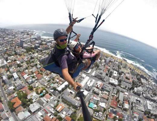 Paragliding Signal Hill Cape town