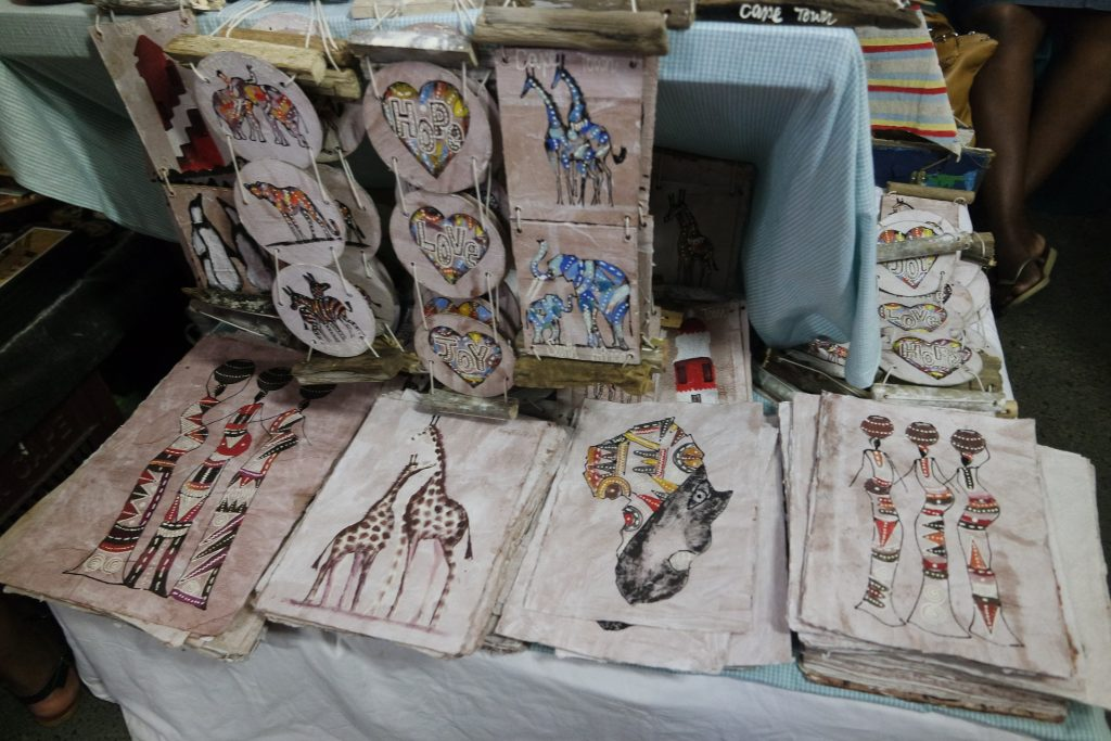 arts and crafts at Bay Harbour Market Hout Bay Cape Town