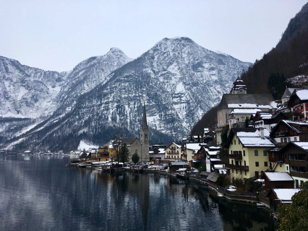 Getting to Hallstatt from Salzburg by bus train and ferry