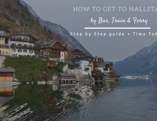 How to get to Hallstatt from Salzburg Step by step guide